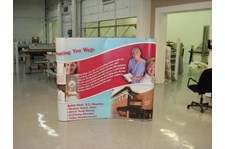PU011 - Custom Pop-Up Trade Show Booth for Healthcare