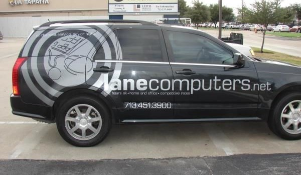 VL160 - Custom Vehicle Lettering for Professional Services