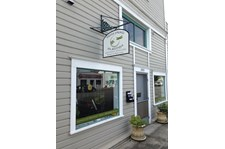 - Window Graphics & Bracket Sign - Native Springs - Anacortes, Wa