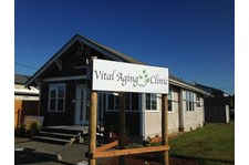 - Architectural Signage - Post & Panel Sign - Vital Aging Clinic - Anacortes, Wa