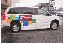 - Image360-Lexington-KY-Partial-Vehicle-Wrap-Healthcare-Shriners-Hospital