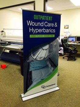 Pop-Up Banners and Stands